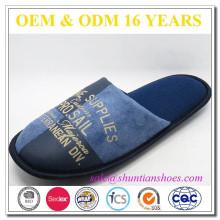 Zapato de interior de la gamuza de la vaca del mens de la alta calidad