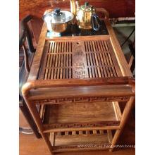 Servicio Kosso de madera maciza con té chino