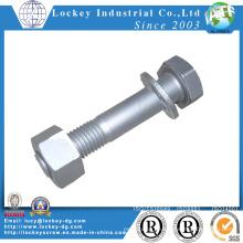 Leichte Stahlstruktur Schraube Heißes DIP Galvanisieren (HDG)