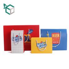 Empaquetado multicolor de la caja acanalada de los bocados del estilo