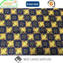 Doublure d'impression du nouveau 100% polyester 2016 avec de haute qualité