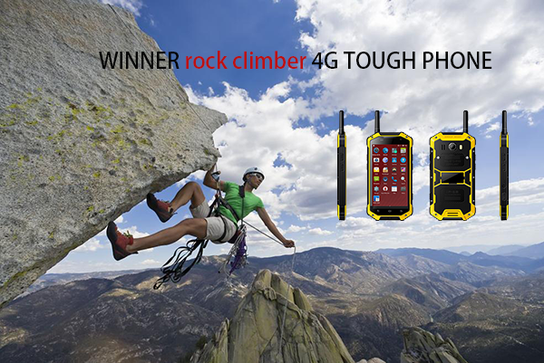 Escalador de roca 4G TOUGH PHONE