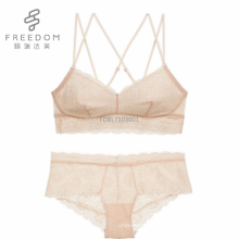 2017 nouveau design belle haute qualité tube sans fil sexy filles dentelle florale sous-vêtements bralette bra ensemble