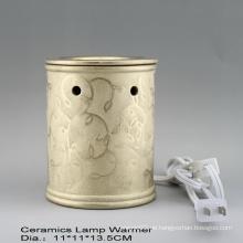 15CE23990 Gold überzogener elektrischer Duft-Wärmer