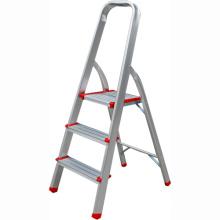 Escalera de dos pasos con mango, mini escalera para escaleras de aluminio plegables / para el hogar