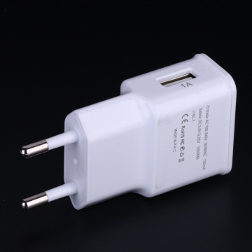 5W europeisk USB-nätadapter