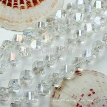 Perlas de cristal claras
