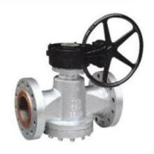 Válvula de enchufe lubricada a presión invertida