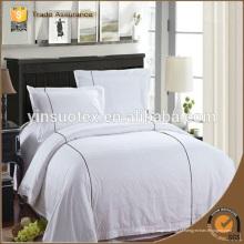 China Têxteis de cetim Jacquard Rainha tamanho Hotel Bed Sheets Atacado