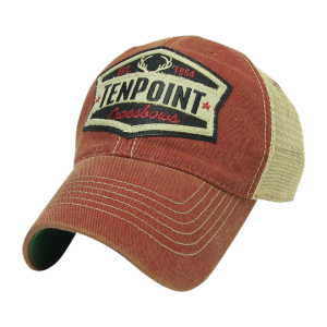"TENPOINT  -  RED ""EST。1994"" HAT"