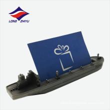 Exposition modèle à vapeur modèle porte-cartes de visite en métal
