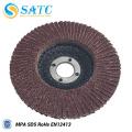 Aluminum oxide flap disc with fiberglass backing 10 PACK