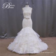 Slim Robes de mariée Décolleté Perle