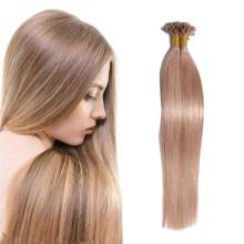 Best Quality Pre Bond U Tip Nail Hair Human Remy Hair Extension Straight Brazilian Real Natural Hair