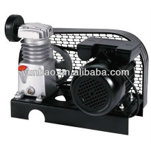 Base plate air compressor without tank