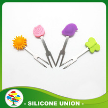 Fourche de fruits silicone