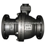 2-piece ball valve, stainless steel, forged steel and cast steel