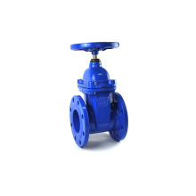 Manual low pressure red handle cast steel gate valve dn80 pn16