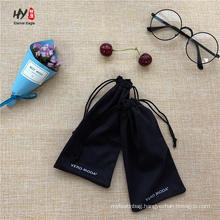 Custom print for eyeglass soft storage microfiber pouch