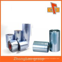 PVC film blue heat shrink wrap bag for packing