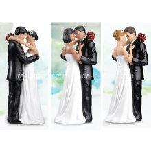 Hochwertige Lillian Rose Kaukasische Tender Moment Figurine für Hochzeitstorte Dekoration