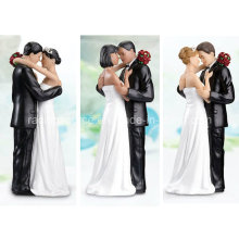 Alta calidad Lillian Rose Caucásico Tender Moment Figurine para decoración de pastel de bodas