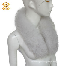 Wholesale Natural Blue Fox Fur Collar Detachable Real Fur Collars