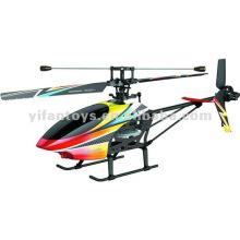 Novo 4ch helicóptero de rc única lâmina 2.4g com tela LCD