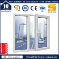 Aluminum Casement Window with Security Grill in Type 50