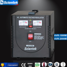 Entrada 130 a 260V Aplicar al congelador Estabilizador automático Regulador de voltaje automático AVR 2000va