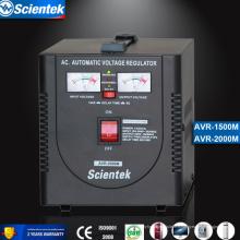 Entrée 130 à 260V Sortie 220V Appliquer au congélateur 1500va Stabilisateur de tension Régulateur de tension automatique AVR