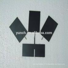 Plaque d'anode en titane pour pile sèche génératrice hho