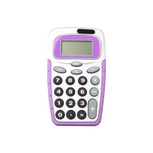 8 Digits Colorful Handheld Calculator with Dual Power