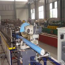 Nueva tecnología de curvatura de Downspout máquina formadora de rollo