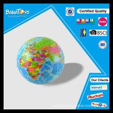 Grande diversão para crianças educacional globo mini brinquedos pu estresse bola