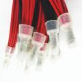Cablagens elétricas da lâmpada ultravioleta do passo 2pin de 3.96mm