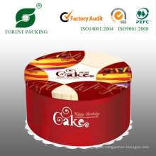 Großhandel runder Papierschachtel für Geburtstagstorte (FP900017)