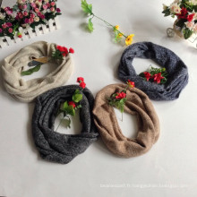 Fabricants d'écharpes en tricot acrylique