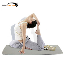 Tapis de yoga de conception 3D de ventilation faite sur commande de polyester