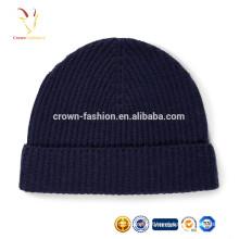 gorro de malha de inverno chapéu de gorro de lã para o tempo frio