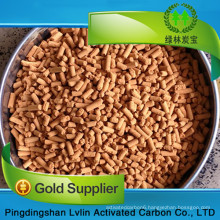 Factory supply Ferric Oxide Desulfurizer Removal charring the feed gas with high quality