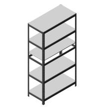 Light Capacity Steel Angle Shelving Customized Adjustable Warehouse Storage Shelf on Sale