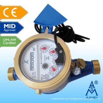 MEDIADOS certificado Multi Jet seco tipo distancia de lectura de medidor de agua