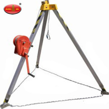 Safety Guard Aluminium Rescue Tripod Dengan Winch
