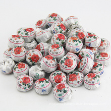 Rose flavored tea ripe pu'er tea bowl shape mini puer tea