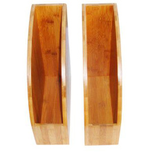 Wholesale Price for Bamboo Stationery Holder bamboo office stationery rack file hanger export to North Korea Factory