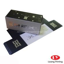 Boîtes en papier d'emballage cosmétique faites sur commande bon marché