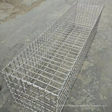 50/50/30cm stone cage iron wire mesh customized gabion basket retaining wall