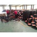 Roda de borracha de pneu de espuma de PU sólido para carrinho de mão