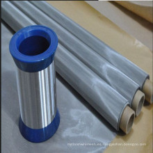 50 malla X0.24 mm sarga tejido de alambre de acero inoxidable red
